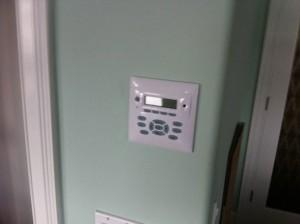 Home Audio Control Panel