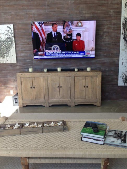 "Palm Beach Polo smart home with monster 75"" Samsung LED"